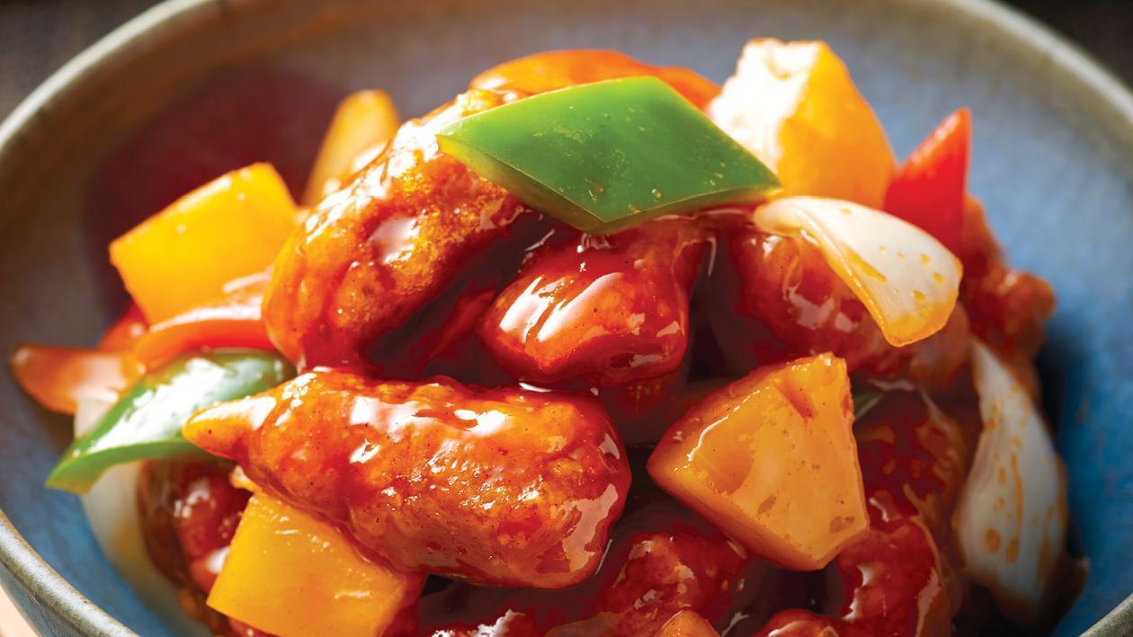 菠蘿甜酸咕嚕肉 – 食譜詳情