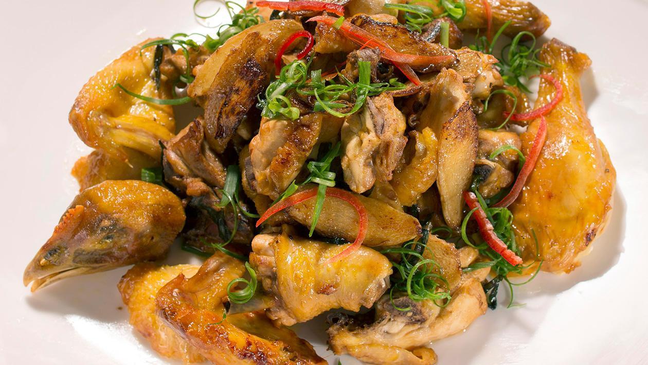薑葱燒雞 – 食譜詳情