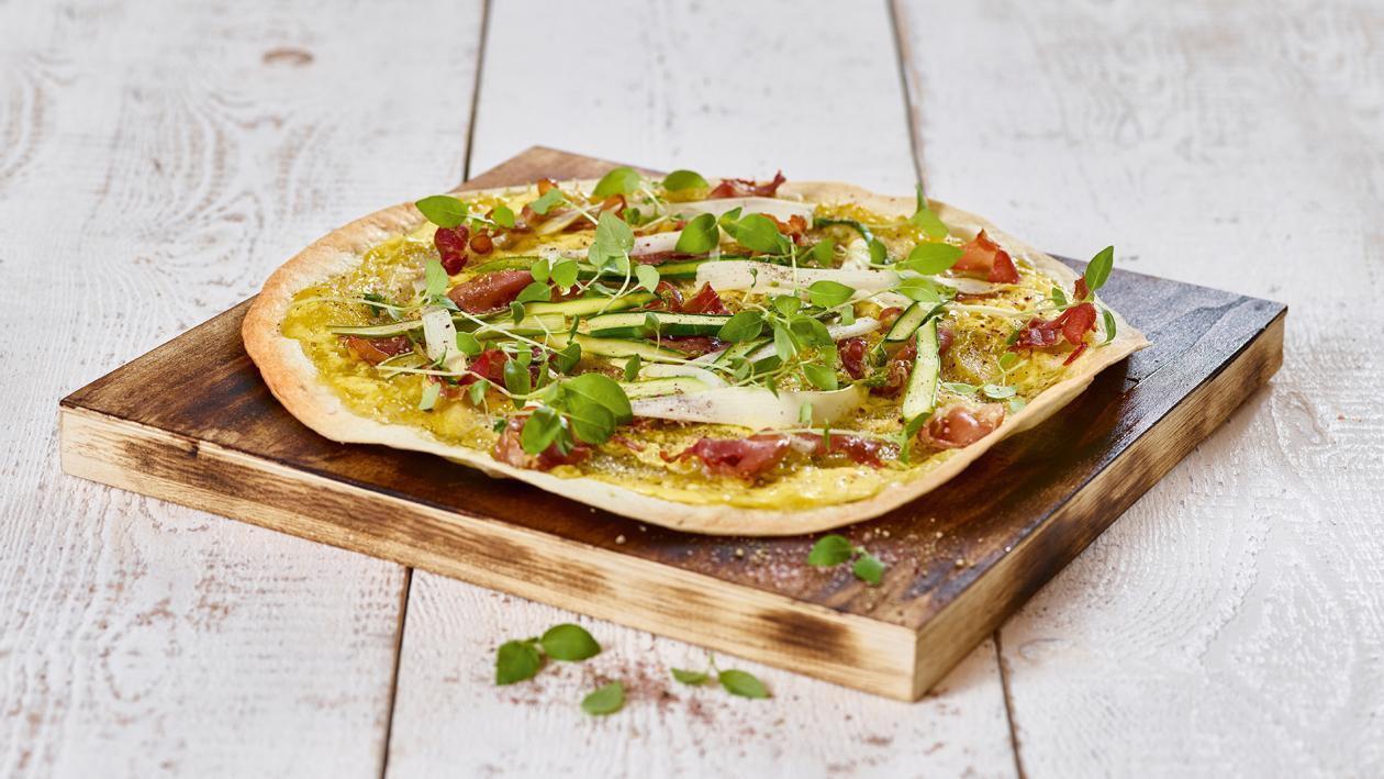 蘆筍披薩 – 食譜詳情