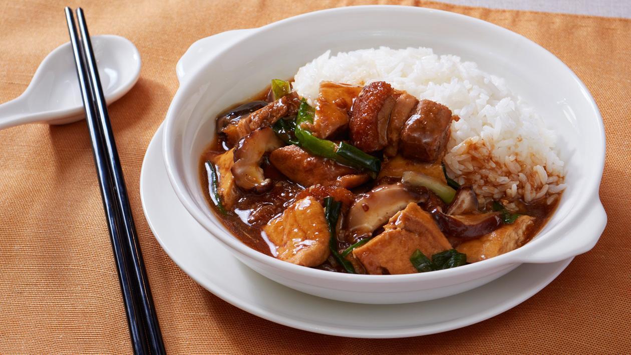 豆腐火腩飯 – 食譜詳情