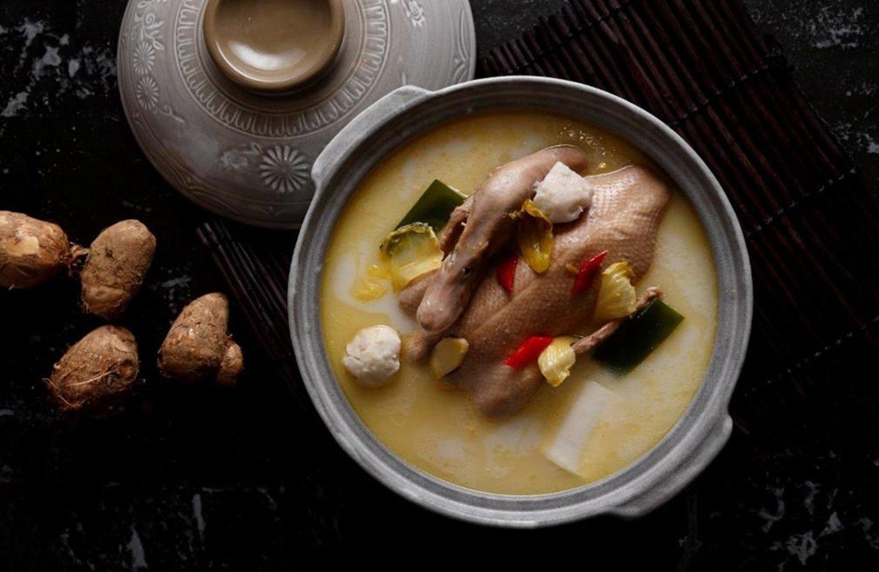 酸菜芋兒燉老鴨 (味型:鹹鮮酸辣味) – 食譜詳情