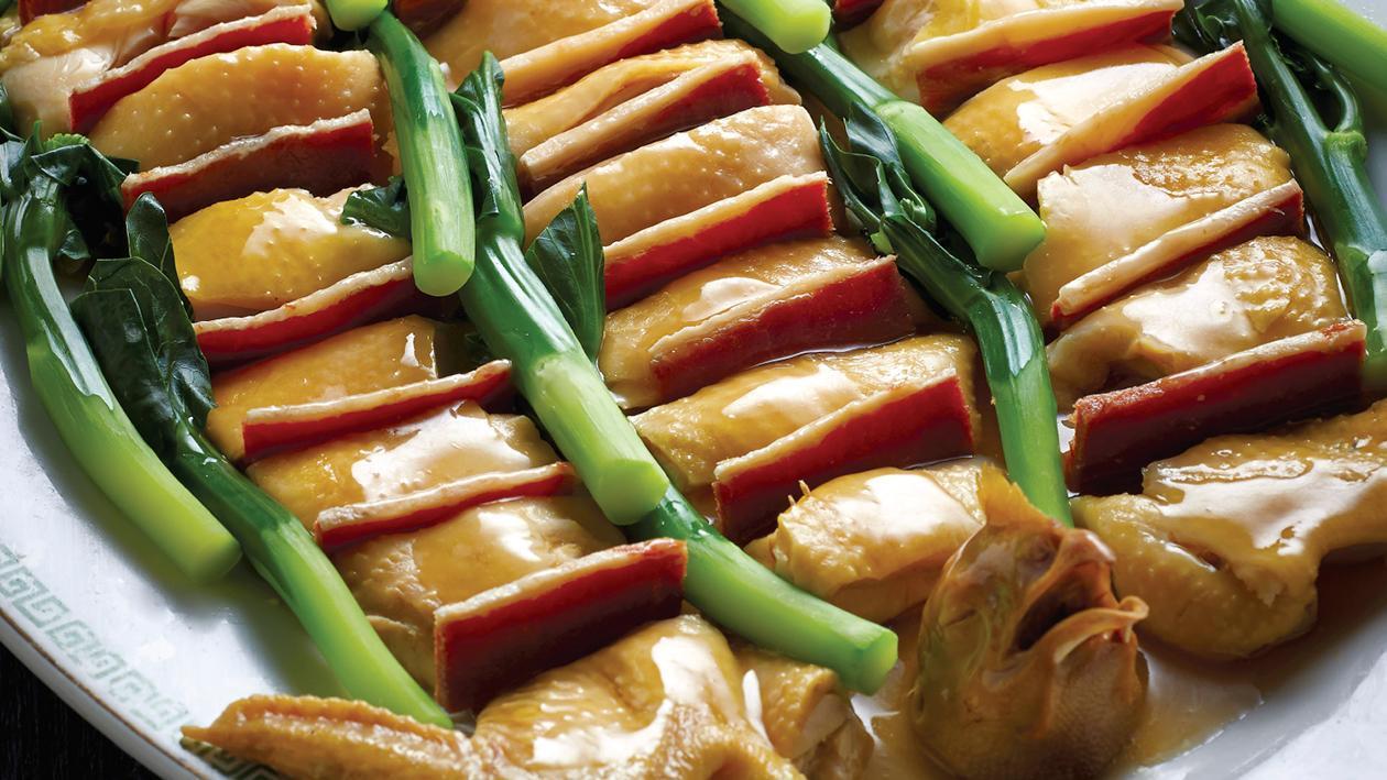 金華玉樹雞 – 食譜詳情