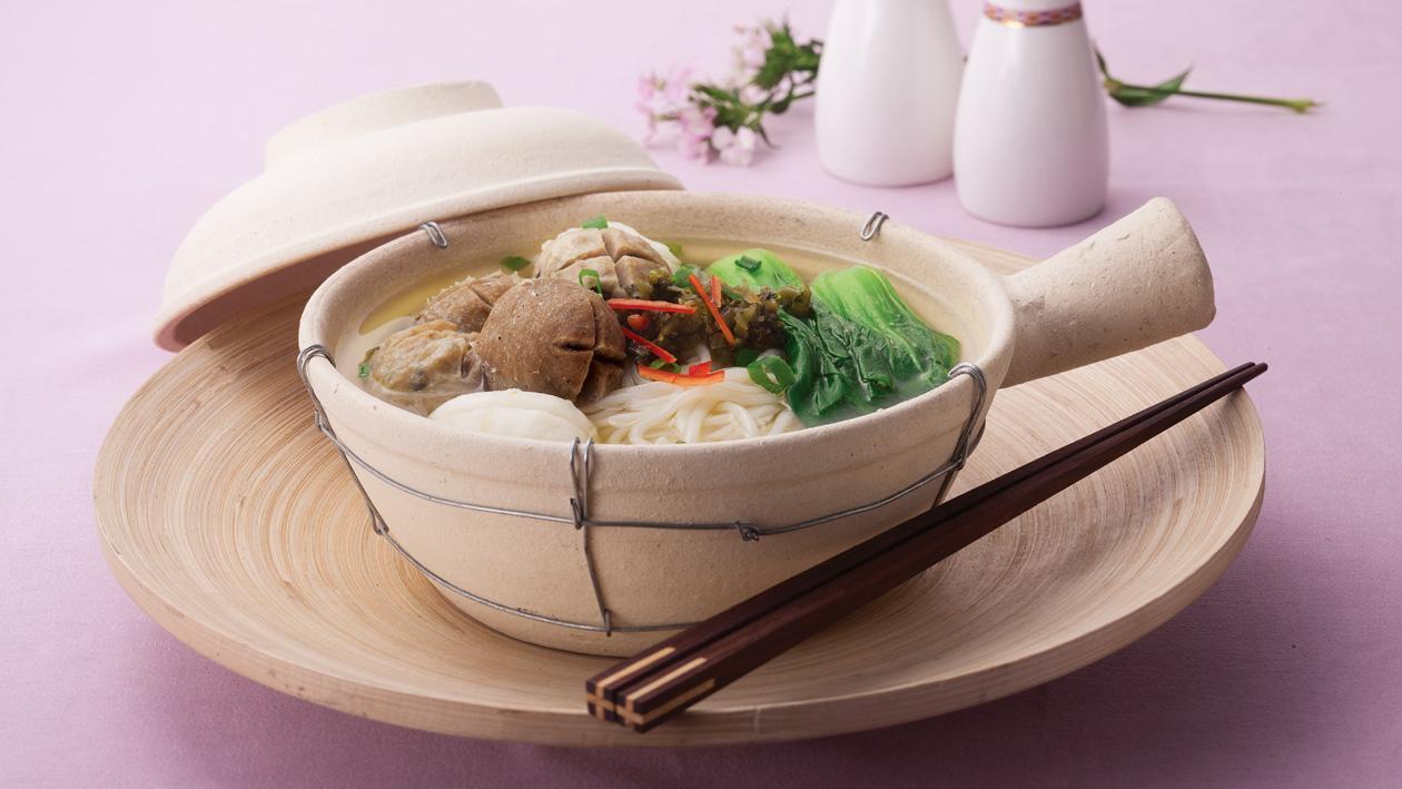 雜丸鴛鴦湯米線 – 食譜詳情
