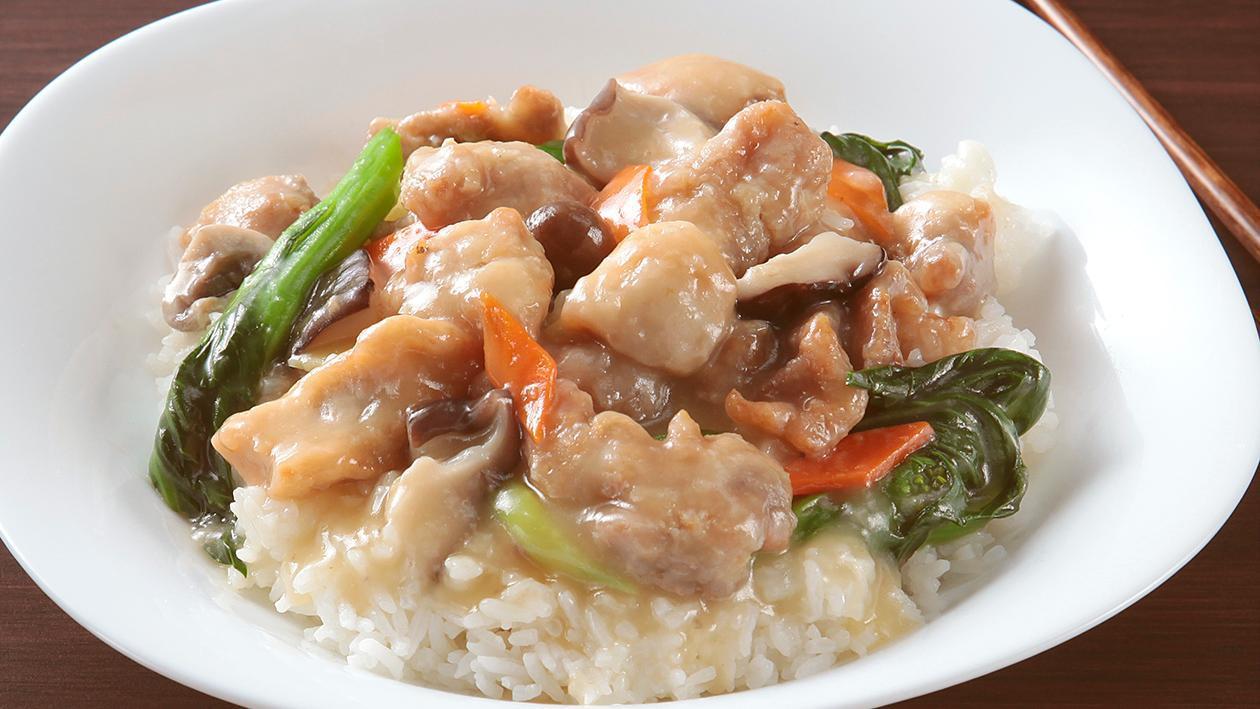 雜菌雞球飯 – 食譜詳情
