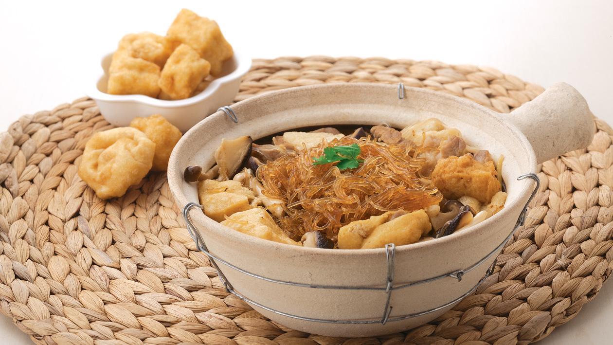 雞汁鮮菌粉絲煲 – 食譜詳情