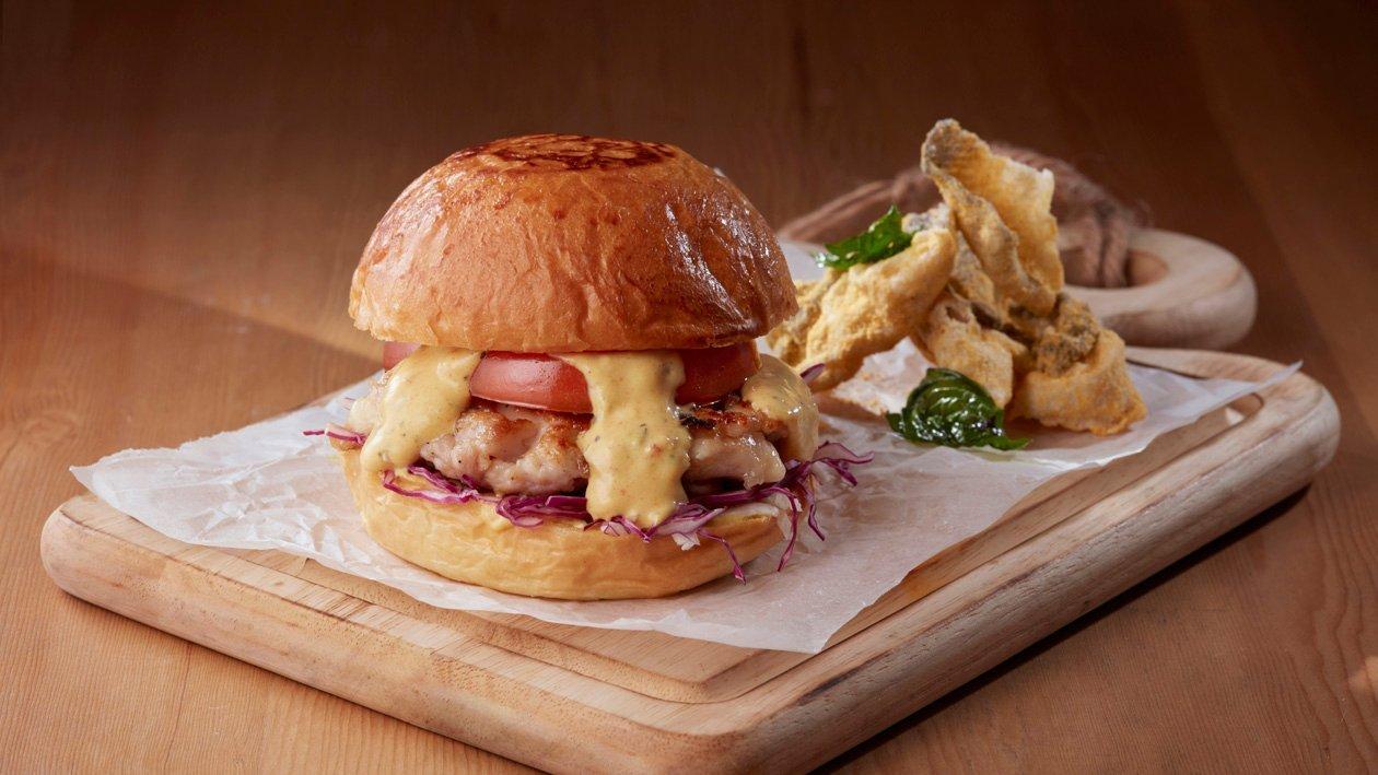 雞軟骨漢堡配巴黎牛油沙律醬 – 食譜詳情