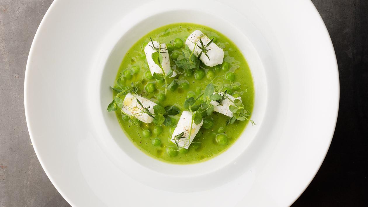 香草豌豆湯 – 食譜詳情
