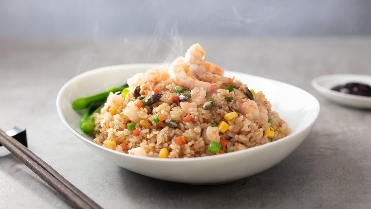 鮮味雙蠔蠔油海鮮炒飯 – 食譜詳情