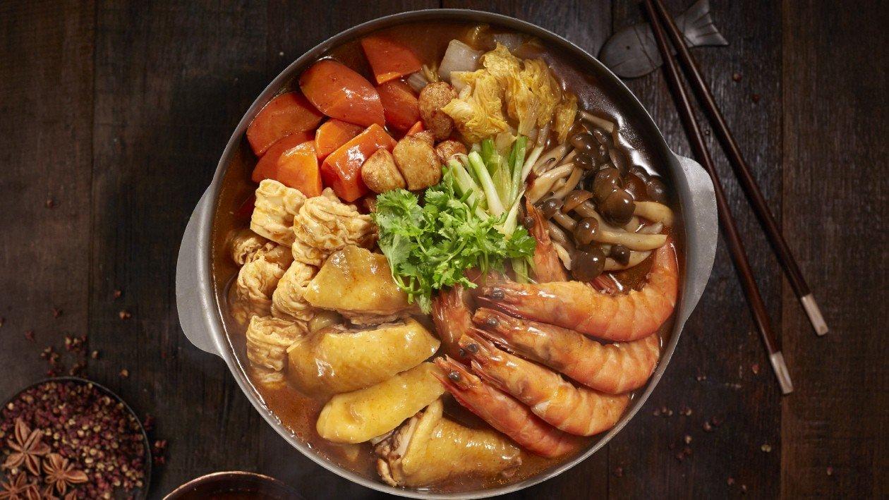 鮮辣紅湯炆鍋 – 食譜詳情