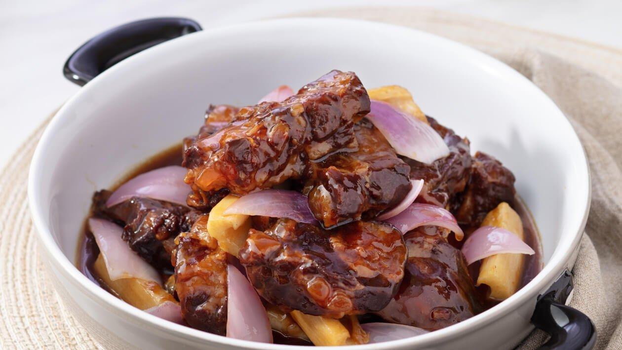 鮮雞汁炆甜酸骨 – 食譜詳情