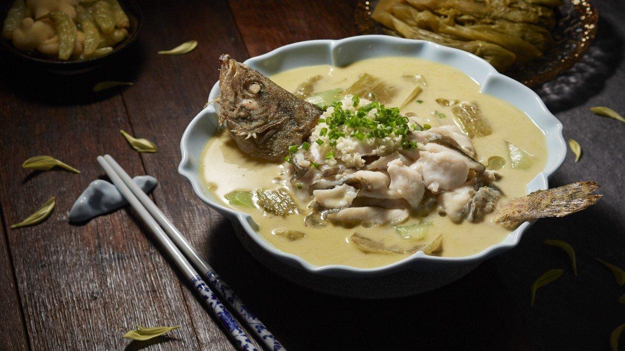 黃金酸菜魚 (家樂牌鮮魚濃湯)  – 食譜詳情