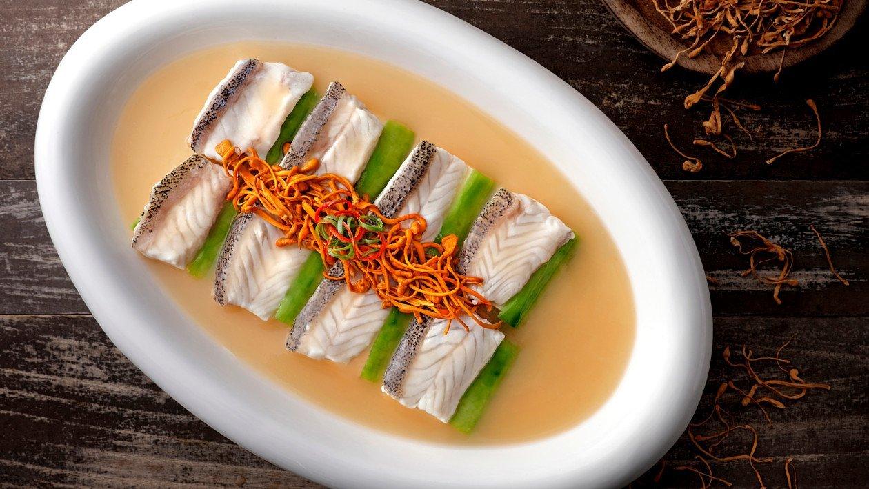 黃金魚湯泡石斑 – 食譜詳情