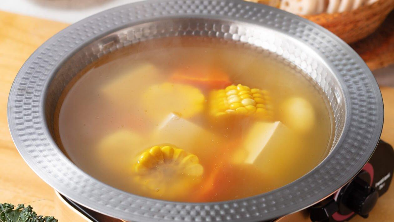 黃金鮮味湯底 – 食譜詳情