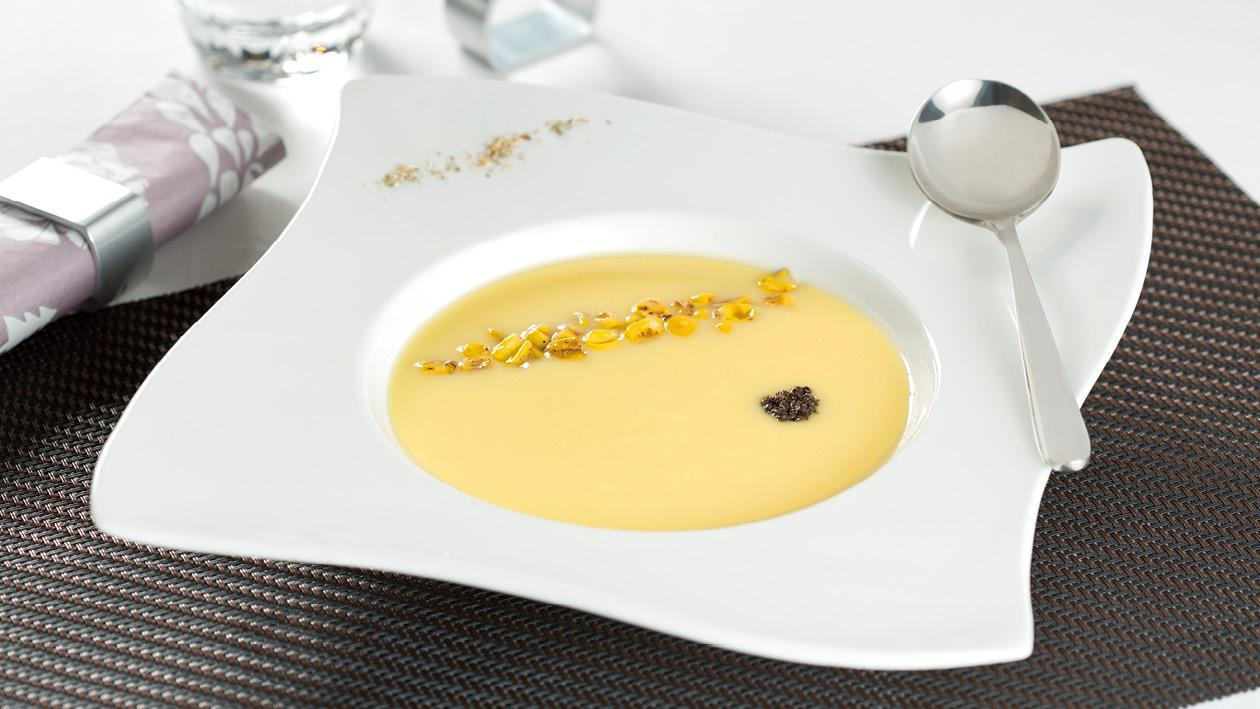 黑松露玉米濃湯 – 食譜詳情