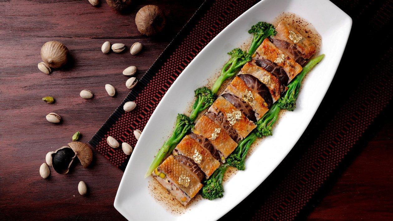 黑蒜開心脆香肉 – 食譜詳情