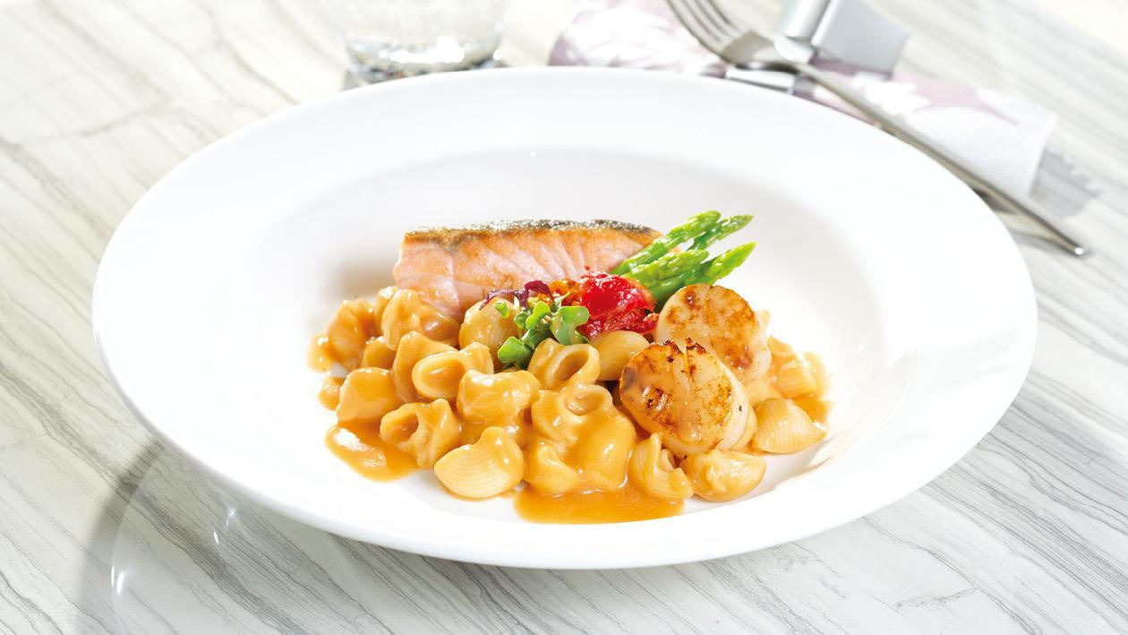 龍蝦汁烤三文魚煙斗粉 – 食譜詳情