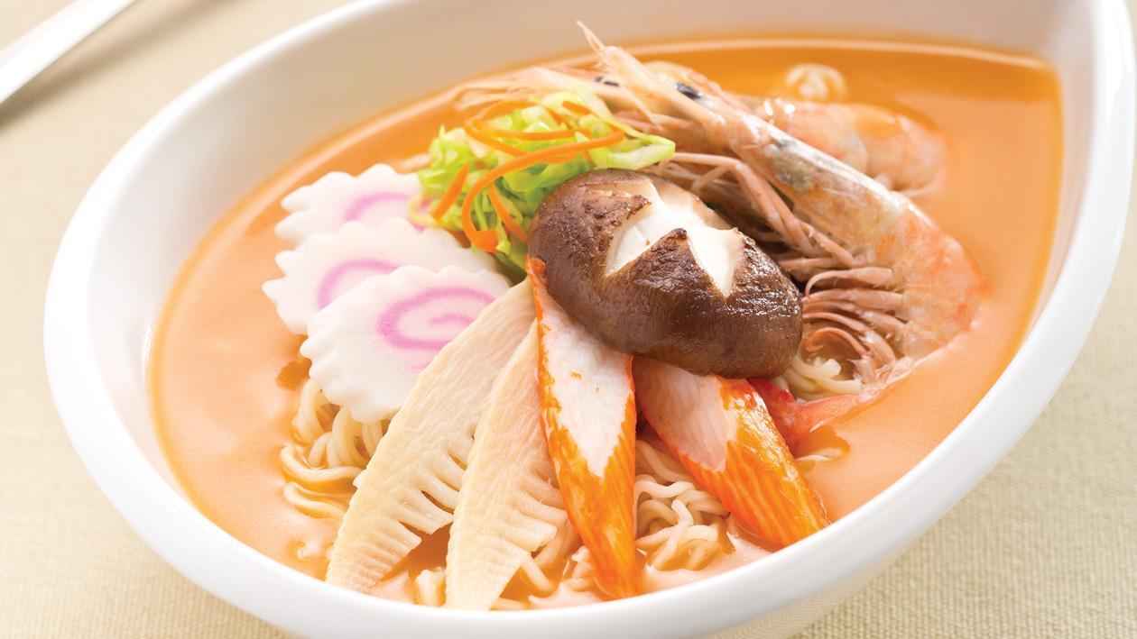 龍蝦湯雜錦丁麵 – 食譜詳情