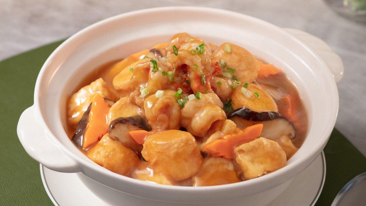 龍蝦鮮湯豆腐煲  – 食譜詳情
