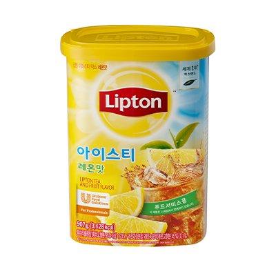 立顿冰红茶拧檬混合料 907g -