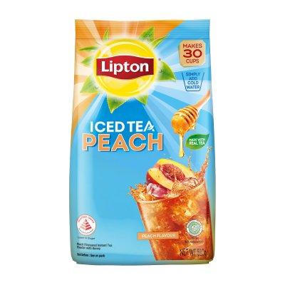 立顿冰红茶蜜桃茶粉 510g