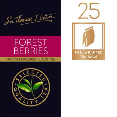 立顿森林莓果茶袋 25x2g -