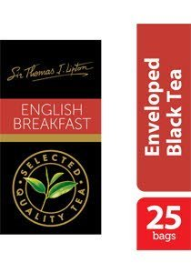 立顿英国早餐茶袋 25x2.4g -