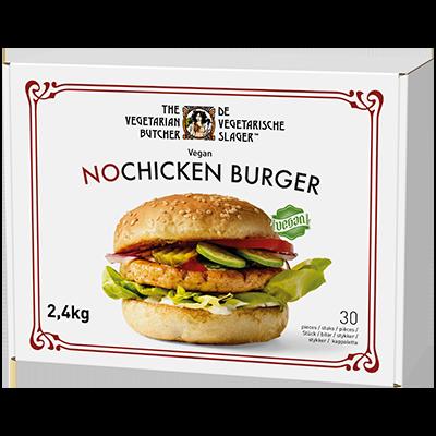植系雞肉漢堡 -