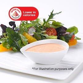 蔬菜沙拉配意大利甜味酱