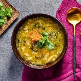 蟹肉鱼鳔汤