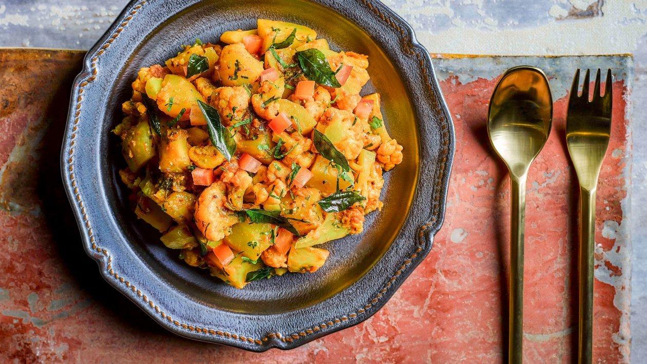 印度马铃薯花椰菜
