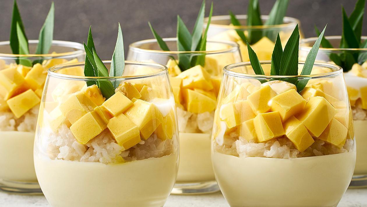 杯装芒果糯米饭