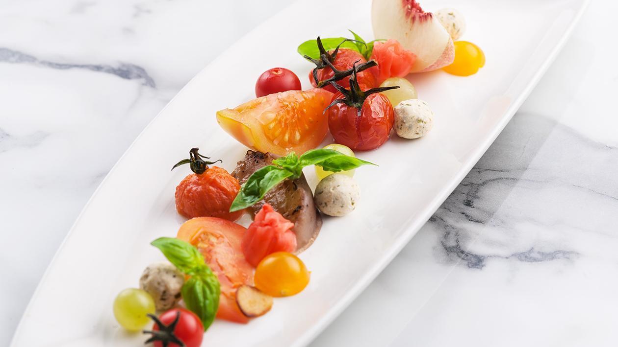 柏士图姜味夏季水果沙拉