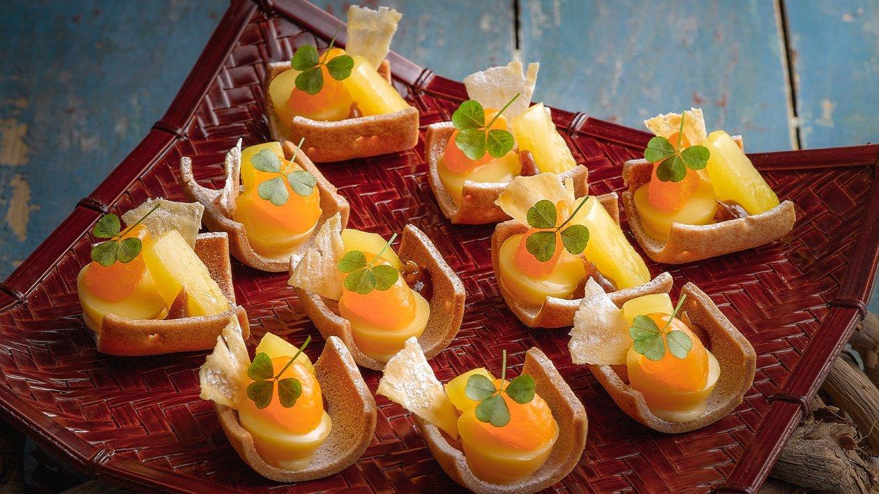 热带水果挞