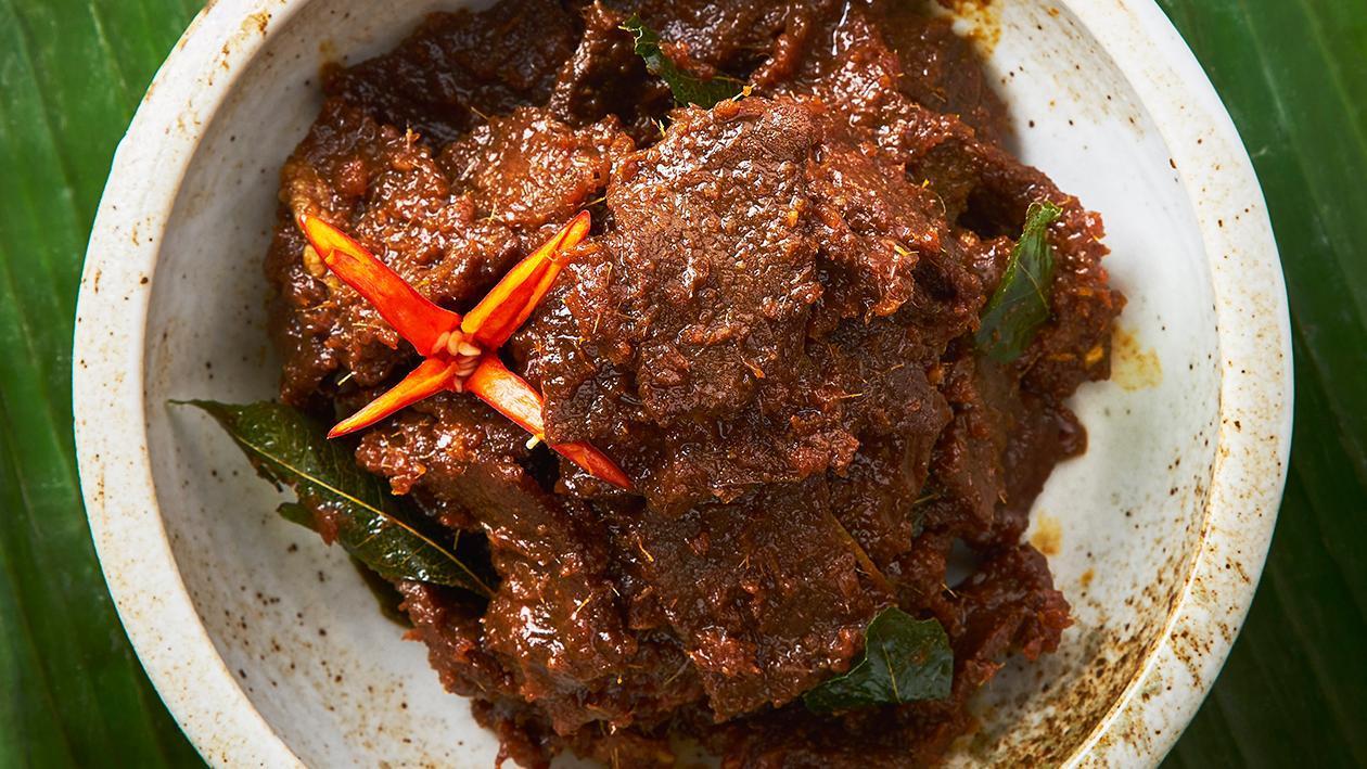 甜酱油炖牛肉