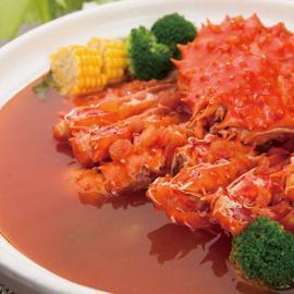 帝皇蟹蕃茄鍋