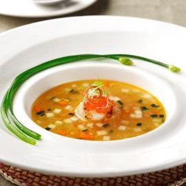 炙燒鮮貝蔬菜