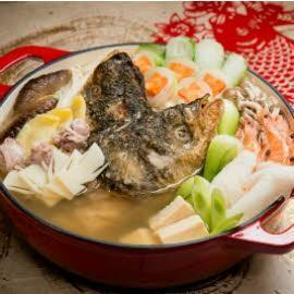 珍品八寶魚頭鍋