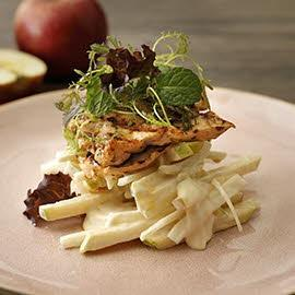 碳烤雞胸蘋果沙拉