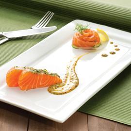 蒔蘿鮭魚佐蜜糖芥末汁