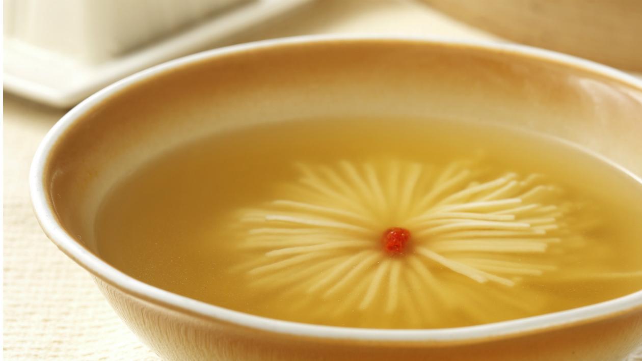 上湯火腿腐菊花