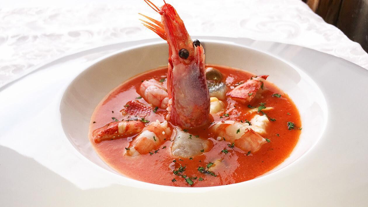 傳統托斯卡尼海鮮濃湯