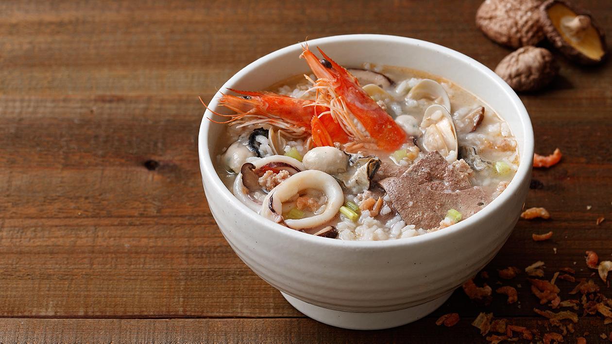 台式海鮮粥