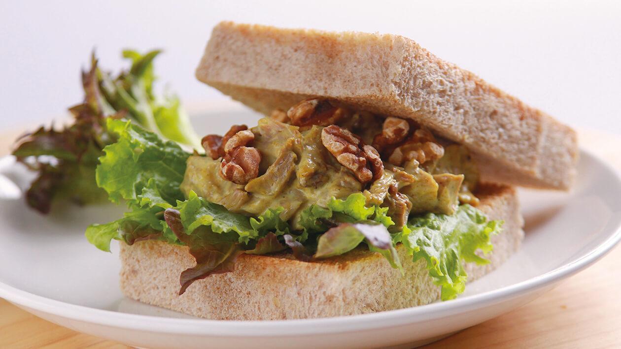 咖哩雞肉三明治