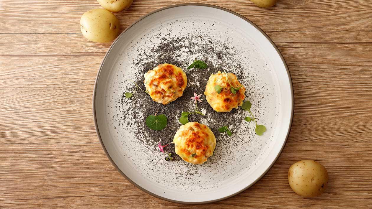奶油洋芋焗海鮮