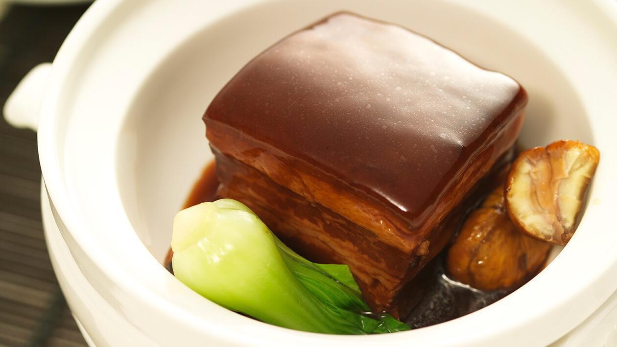 山栗醬燜燒東坡肉
