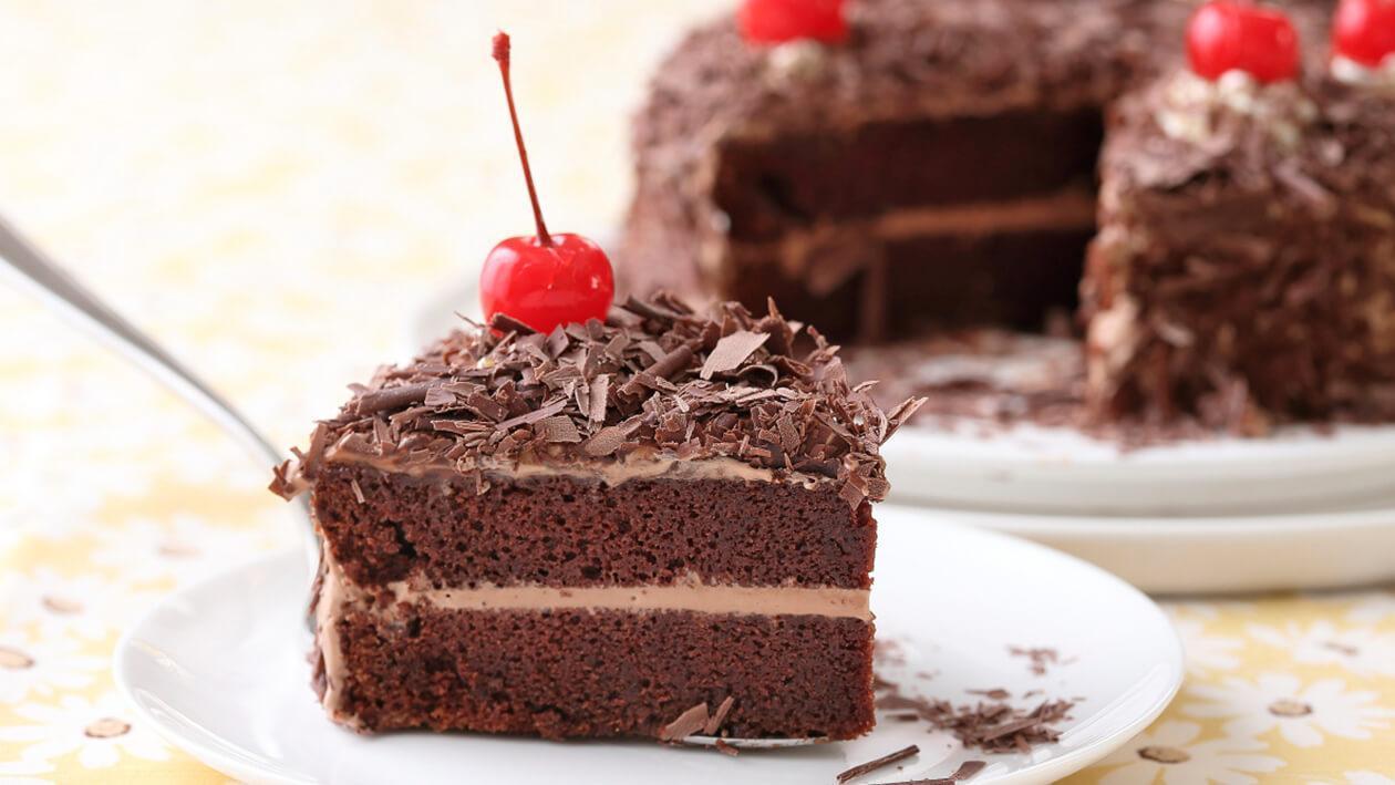 巧克力美玉白蛋糕