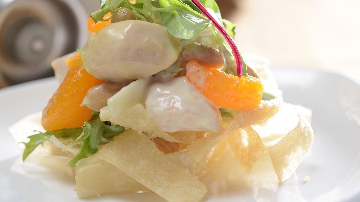 新川京雞肉溫沙拉