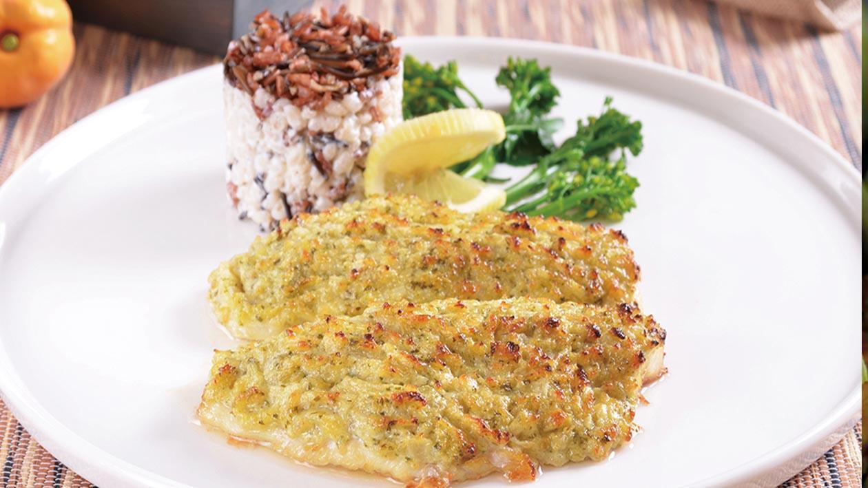 朝鮮薊醬烤石斑魚菲力