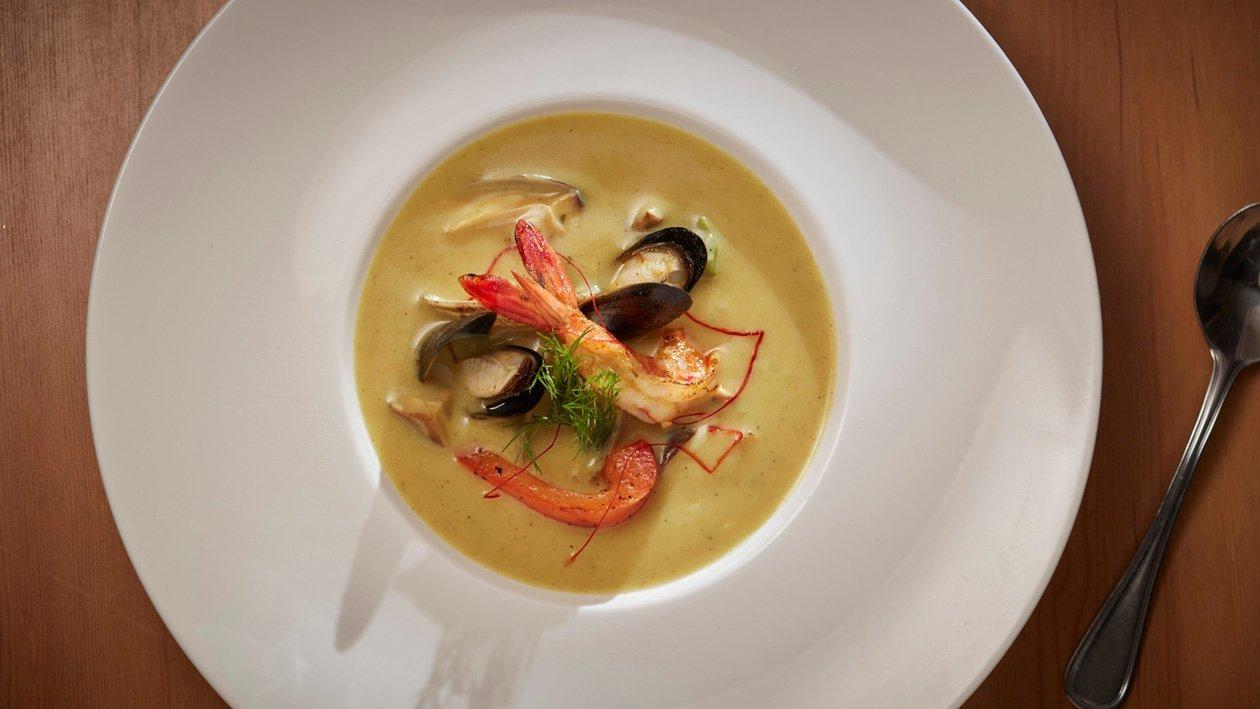 椰奶咖哩風味海鮮湯