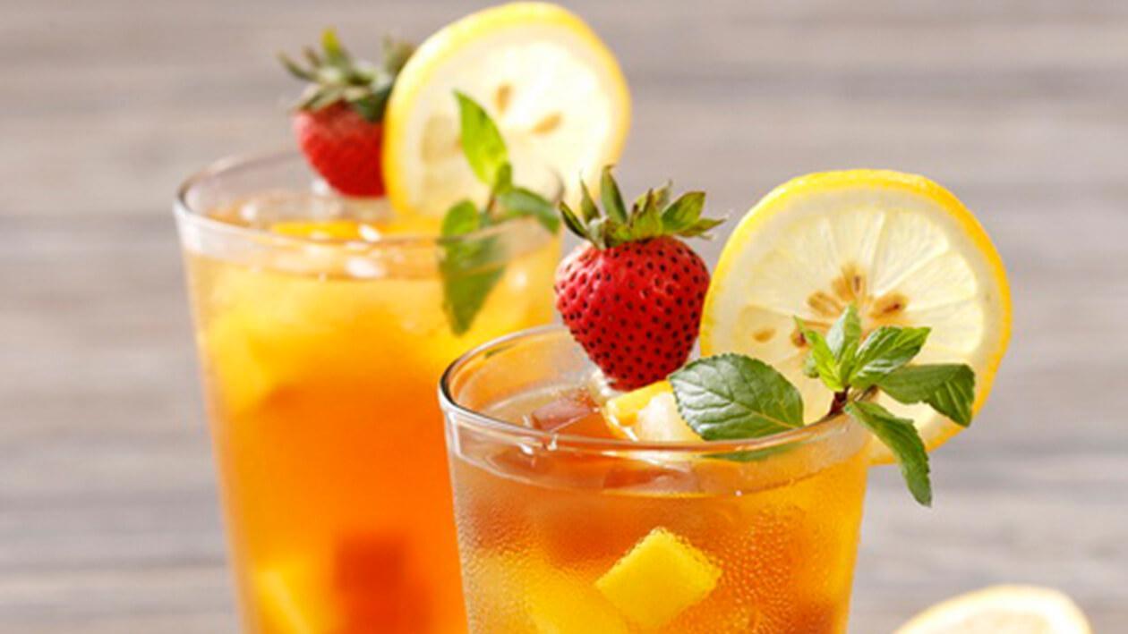 水果茶凍飲